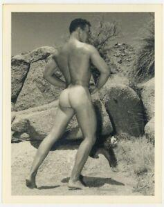 Bruce Bellas Of LA 1950 Original Photo Gay Physique Beefcake Nude Male Q7299