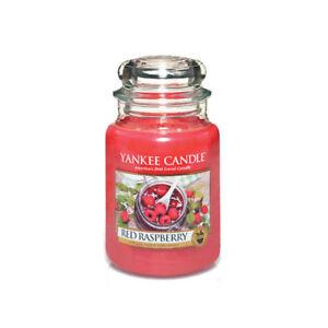 EUR 47,92 pro kg Yankee Candle Duftkerze Jar Housewarmer 623 g Red Raspberry
