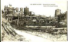 CPA - AISNE ( 02 ) - Berry-au-Bac - Ruines de la Sucrerie (032)