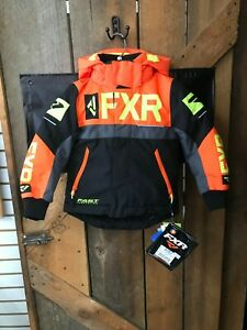FXR Ch Helium Jacket - 2 - Black/Orange/Char/Hi Vis # 200416-1030-02
