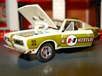 "1968 68 PLYMOUTH BARRACUDA 426 HEMI LIMITED EDITION 1/64 M2 ""HURST SUPER STOCK"""