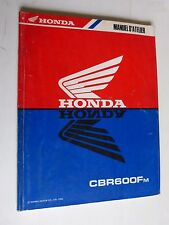 manuel d'entretien / revue technique atelier HONDA CBR 600 Fm de 1990