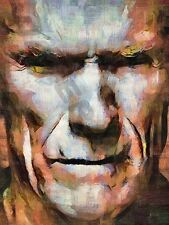 CLINT EASTWOOD UNFORGIVEN DIRTY HARRY ART PRINT POSTER OIL PAINTING LFF0031