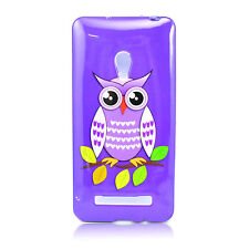 Smart Skin Back Silicone Rubber Gel Phone Cover Case Shell For ASUS Zenfone 5
