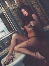Rhona Mitra (Nude) Doomsday Underworld The Last Ship RARE CANDID SIGNED RP 8x10