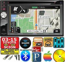 FITS/FOR TOYOTA & SCION NAVIGATION DVD/CD Bluetooth USB AUX CAR RADIO STEREO PKG