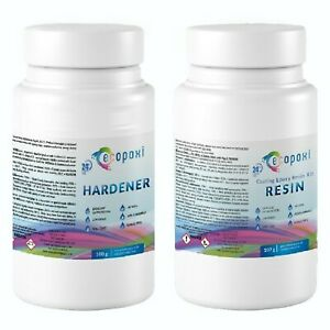 Epoxy Resin Kit Art Clear Low Viscosity 150g 350g 750g 1kg 1.5kg 3kg 6kg Ecopoxi
