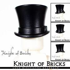 1 x LEGO 3878 Chapeau Haut-de-Forme noir, black Top Hat Headgear NEUF NEW