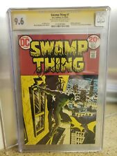 Swamp Thing #7 CGC 9.6 Signed By Bernie Wrightson!!