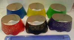 Glitter Crowns Foil Party Hats 6 Assorted Colours Silver Glitter pack of 24