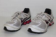 Nike + Navina 3 Shox Womens 9.5 White Black Pink Athletic Running Sneakers Shoes