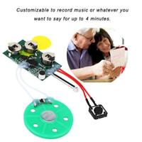 240s Greeting Card Recordable Voice Chip Music Sound Chip Module Musical DIY