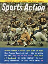 1963 (Feb.) Sports Action Football magazine, Jim Taylor, Green Bay Packers ~ VG