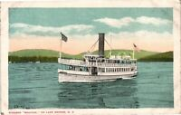 "Vintage Postcard - Steamer ""Mohican"" On Lake George New York NY #4216"