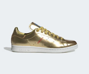 Adidas Stan Smith Metallic Gold Sneakers