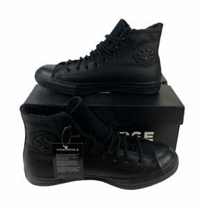 NEW Converse Chuck Taylor All Star Winter Hi Gore-Tex Black Boots Mens Size 8.5