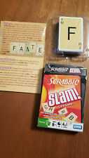NEW Parker Bothers Hasbro Scrabble Slam Card Game Family Game Night Crossword
