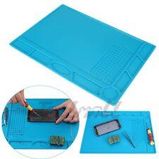 Magnetic Heat Silicone Pad Desk Mat Soldering Repair For Bga Size 23cm X 32cm