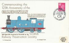 GB Railway Series Caledonian Stirling Railway  Cover  22 April 1972