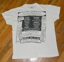 RaRe *1989 RAMONES* vtg nyc concert t-shirt (L) Blondie Motorhead Ronnie Spector