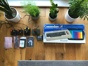 Commodore C64 Breadbin BOXED Bundle EXTRAS: WiFi,Stabilizer,Fastload...Bargain