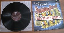 """Bill Haley & His Comets - LP -  """"Rock The Joint!"""" -1985 comp of Essex recordings"""