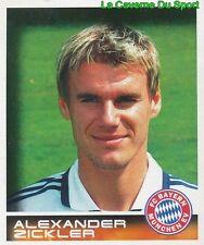 347 ZICKLER DEUTSCHLAND FC BAYERN MÜNCHEN STICKER BUNDESLIGA 2001 PANINI