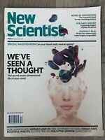 NEW SCIENTIST Magazine - 30th September 2017 - We've Seen a Thought