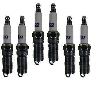 Set Of 6 Spark Plugs AcDelco For Ford Taurus Flex Explorer Lincoln MKS 3.5L V6
