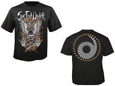 SIX FEET UNDER - Biker Gold - Big T-Shirt - Größe Plus Size XXXXL 4XL - Oversize