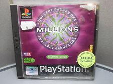 Jeu sony PS1: QUI VEUT GAGNER DES MILLIONS – Seconde edition – complet