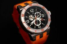 Men's Joshua & Sons JS55 Swiss Quartz Chronograph Silicone Strap Watch