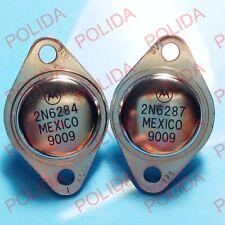 1pairs OR 2PCS  Transistor MOTOROLA/ON TO-3 2N6284/2N6287 2N6284G/2N6287G