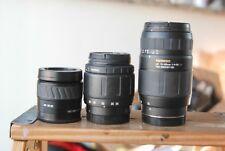 Minolta AF 35-80mm,28-80mm and 70-300mm lenses FOR SONY MINOLTA