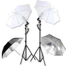 2x135W Photography Studio Photo Umbrella Kit Continuous Light Lighting Stand