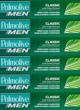 6 X  Palmolive - 100ml Shaving Cream Classic with Palm Extract