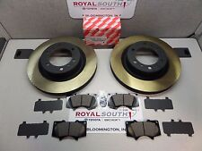 Toyota 4Runner 2010 - 2016 Front Brake Pads & Front Rotors Set Genuine OE OEM