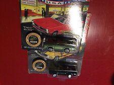 Lot of 2 1969 Oldsmobile 442 Johnny Lightning Jl 1/64 muscle cars Usa 1994