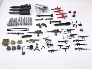 Vintage 1980s GI Joe Weapons Accessories Lot of 60 Guns, Missiles, Phone ARAH
