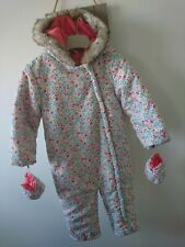 BHS baby girl snowsuit 18-24 months great condition