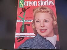 June Allyson, Bette Davis, James Stewart - Screen Stories Magazine 1955