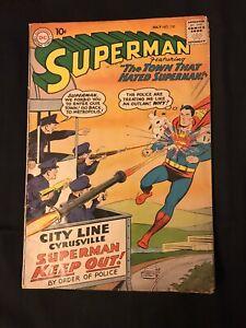 Superman, #130, July 1959