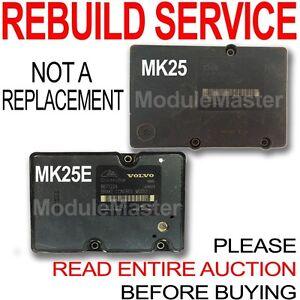 Rebuild for 02 03 04 05 06 07 Volvo S60 S80 V70 XC70 XC90 ATE MK25 MK25E ABS