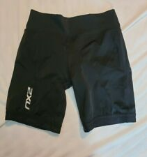 2Xu Compression Shorts Tri Triathlon Cycling Womens Black L Large