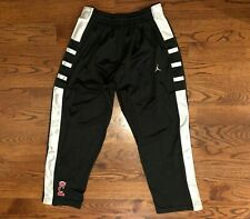 Cincinnati Bearcats Basketball Nike Jordan Tear Away Athletic Pants Men's Large