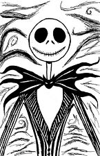 Jack Skellington Nightmare Before Christmas 11 x 17 High Quality Poster