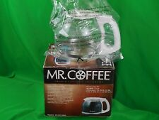 MR. COFFEE AUTOMATIC COFFEE MAKERS 12CUP CARAFE/DECANTER SMALL KITCHEN APPLIANCE