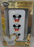 Disney Store Mickey Mouse Artist Series 2 iPhone 5 Cell Phone Clip Case Screen