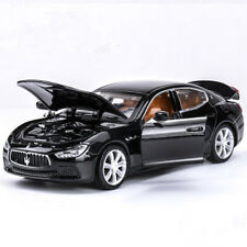 Maserati Ghibli Alloy Diecast 1:32 Car Model Sound & Light Gifts Black Toys Cars