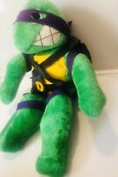 Vintage Teenage Mutant Ninja Turtles TMNT Plush Donatello